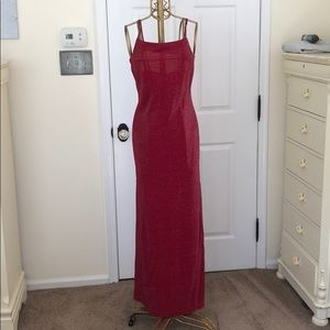 Dresses & Skirts - Deep raspberry shimmery dress